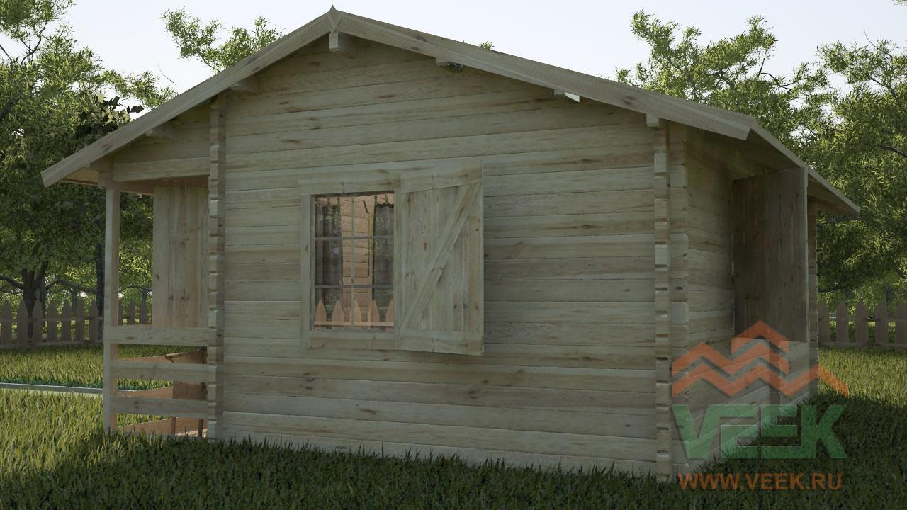 схема дачного дома 7х6